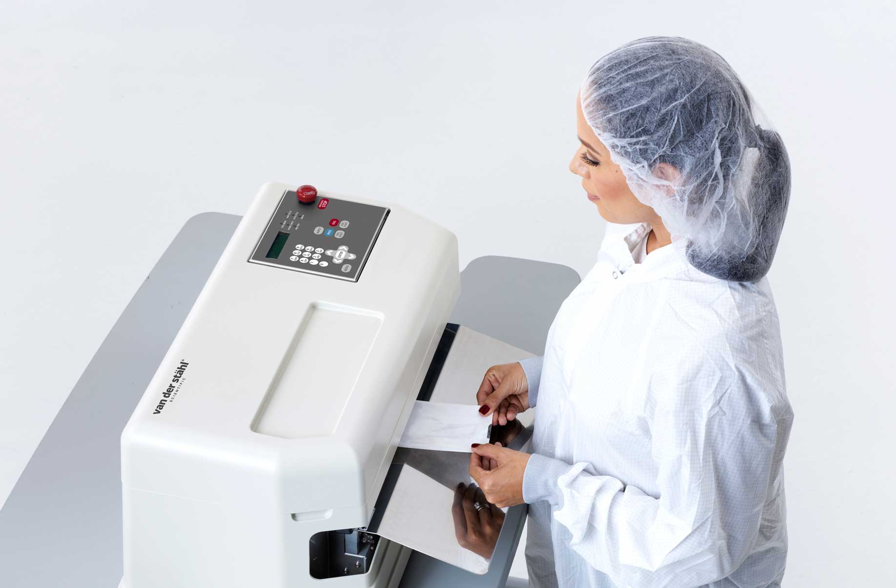 Medical device packaging & pouch testing systems