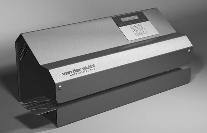 Van der Stahl Scientific md series rotary pouch printer sealer