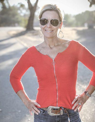 Lisa Wassberg outdoors