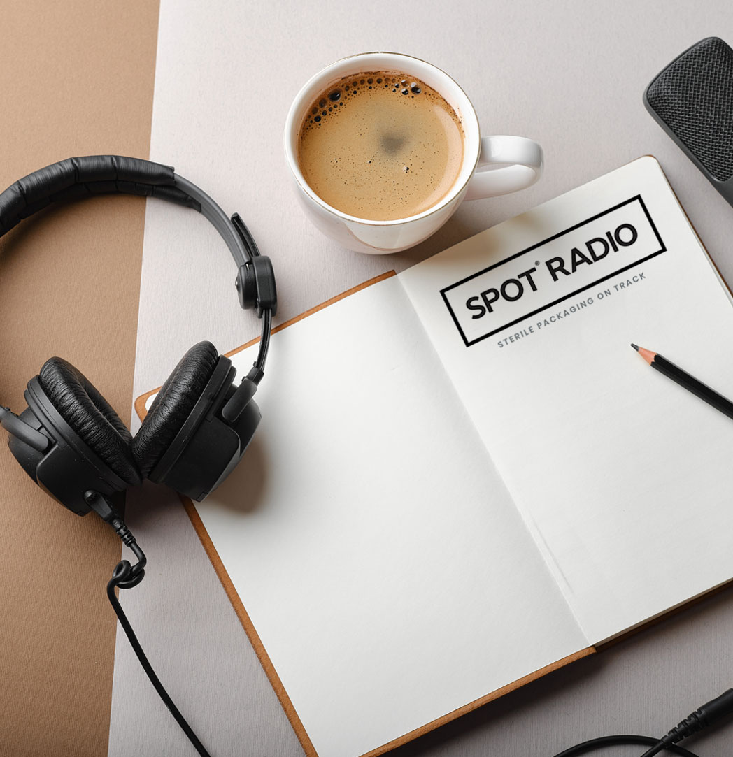 spot radio podcast notebook