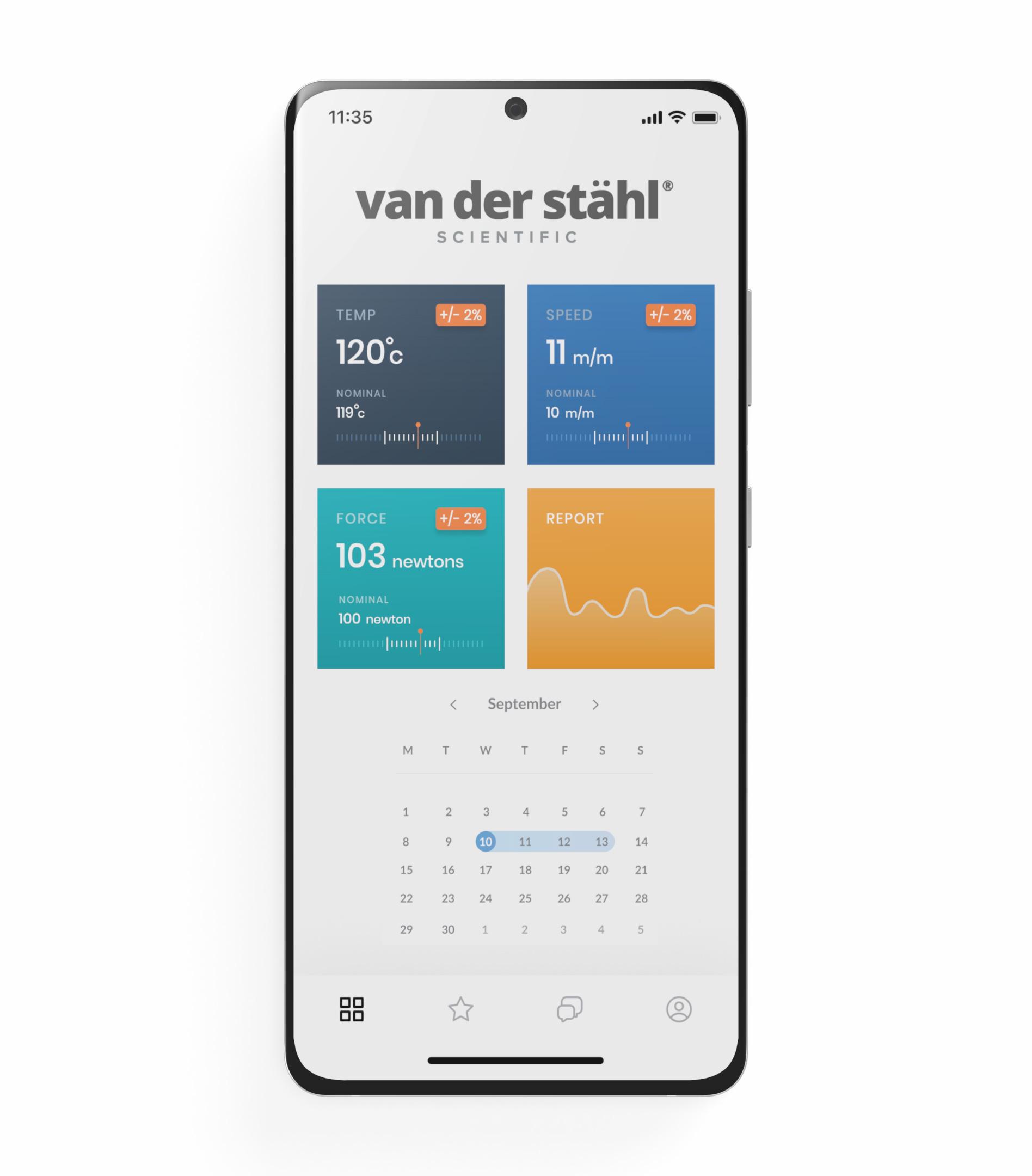 cell phone calendar screen shot