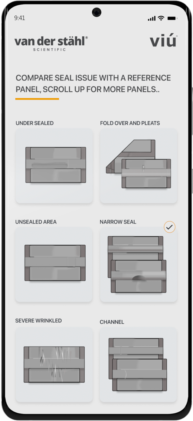 VIU Compare seal issues